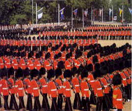 changing the guard, Buckingham Palace,London